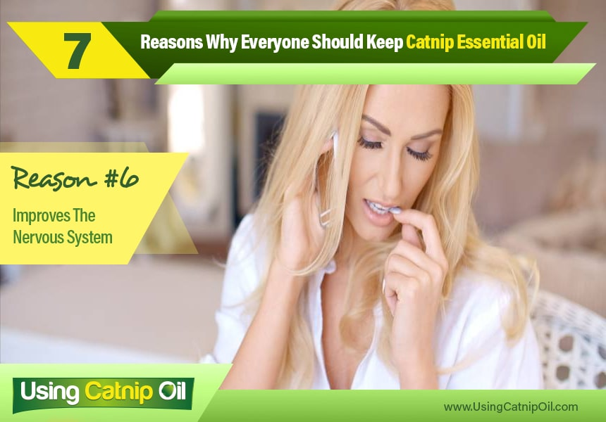 benefits of catnip essential oil